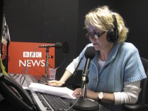 Connie Roberts on BBC News