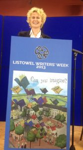 "Connie Roberts at the ""Listowel Writers' Week"""
