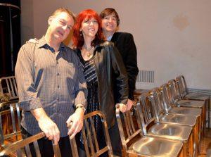 Paul Bevan, Deni Bonet and Andrew Holmes-Higgin