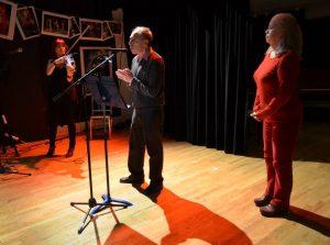 Deni Bonet, Ron Vazzano and Mary Tierney