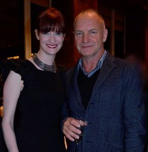 Niamh Hyland and Sting