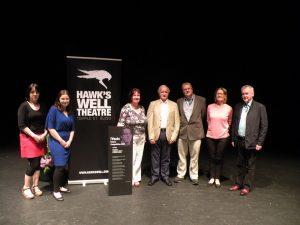 Noel Lawlor, far right