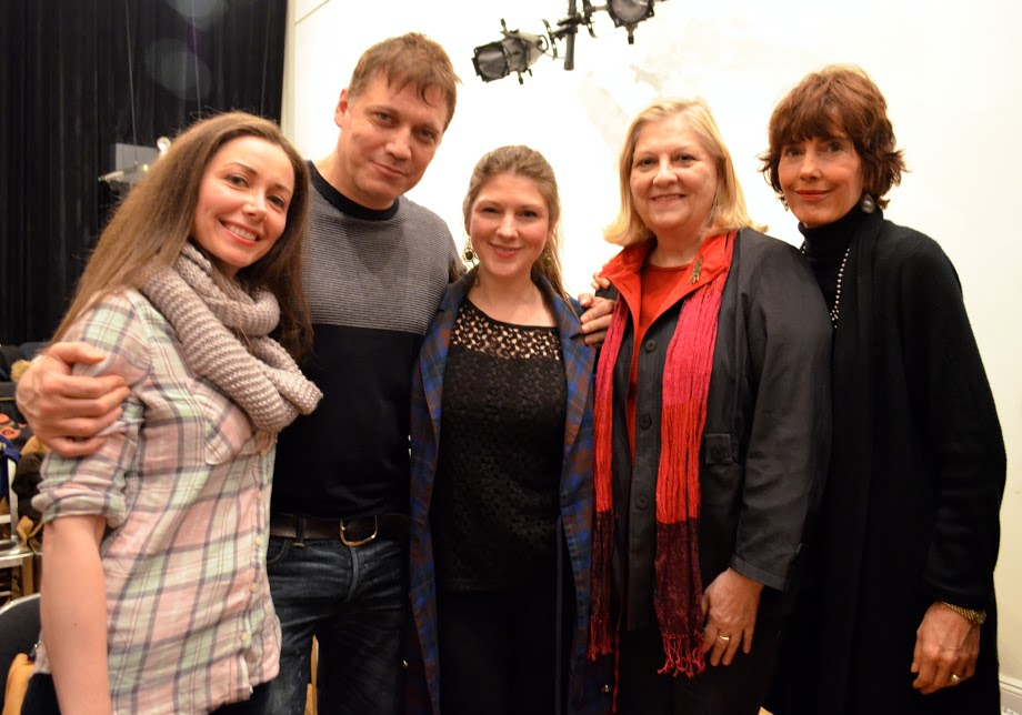Nicole Wilson, Yevgeniy Skroznikov, Grainne Duddy, Maureen Farrell, Maire Clements