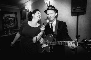 Tara O'Grady and Pete Kennedy