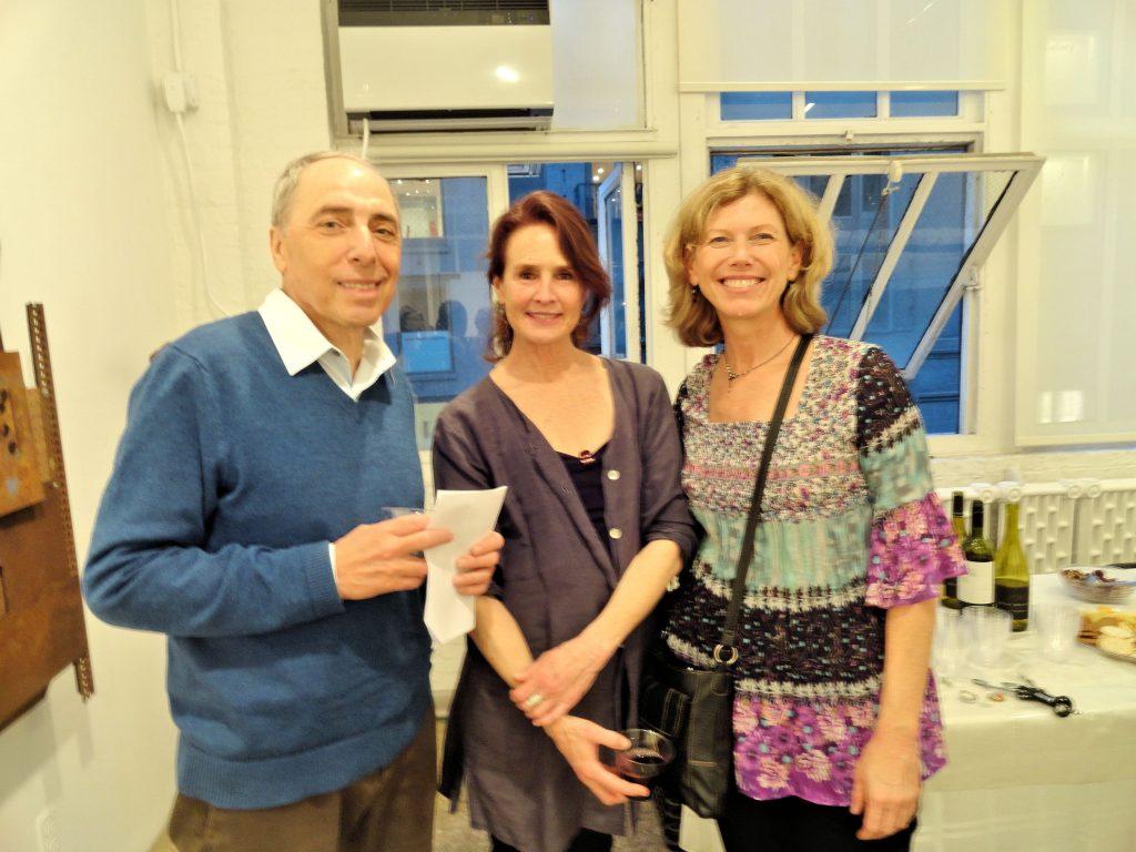 Ron Vazzano, Kathleen Bennett Bastis and Jenai Huff
