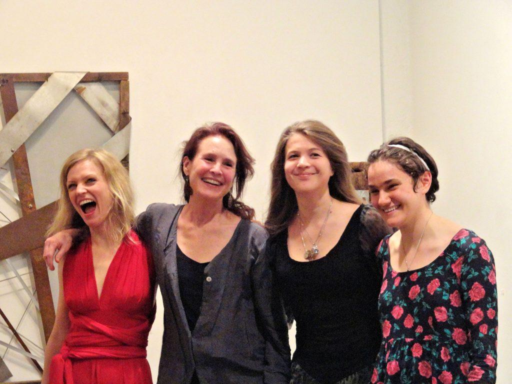 Annette Homann, Kathleen Bennett Bastis, Martina Fiserova and Allison Sylvia