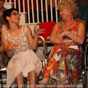 Liv Mammone and Connie Roberts. Photo by Cat Dwyer