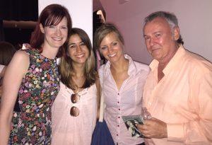 Niamh Hyland, Sasha Papernik, Anette Homann and Noel Lawlor