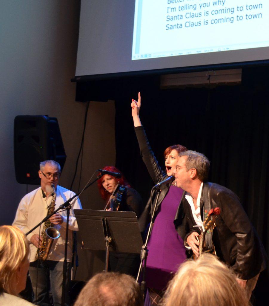 Erik Lawrence, Deni Bonet, Niamh Hyland and Ed Romanoff