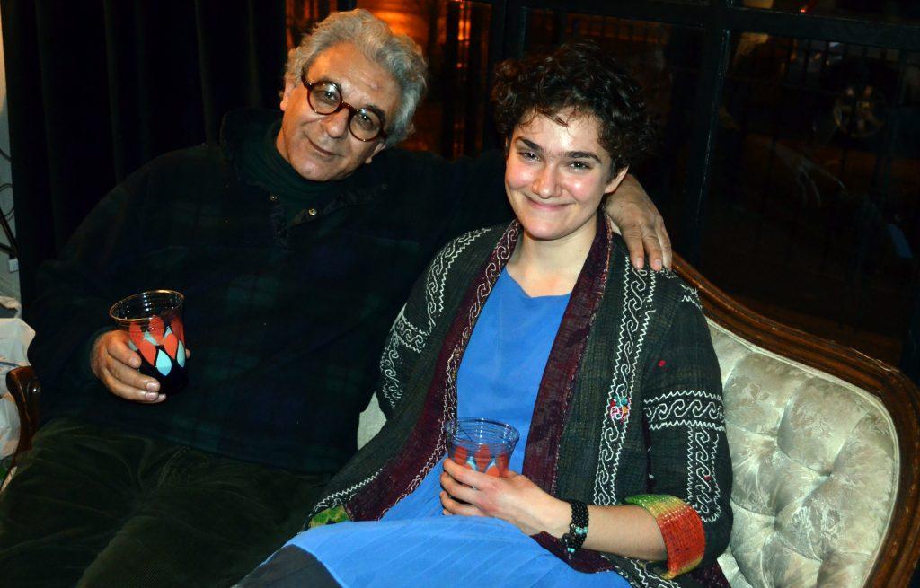 Rafiq Kathwari and Allison Sylvia