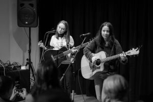 Izzy Levine and Ella McDonald