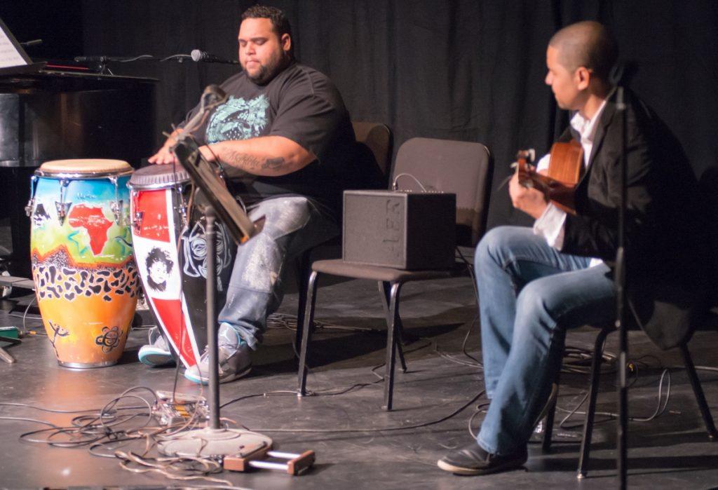 Jhair Sala and Yuri Juarez