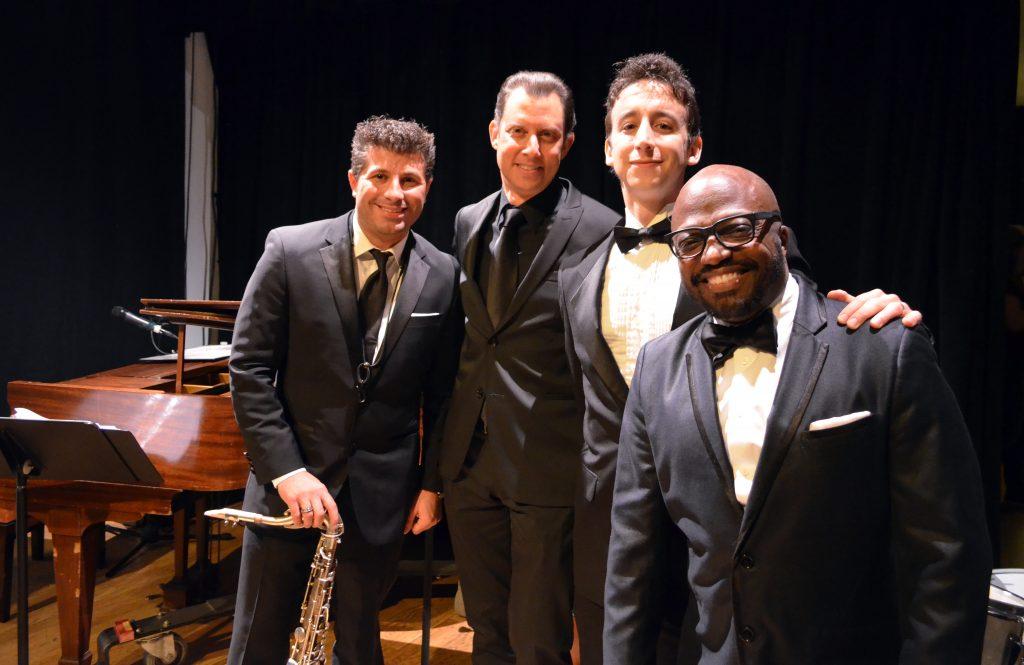 Tony Carfora, Daniel Glass, Danny Weller and David Raleigh