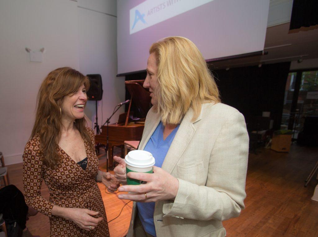 Patricia Schneider and Honor Molloy