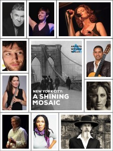 NYC Shining Mosaic Montage