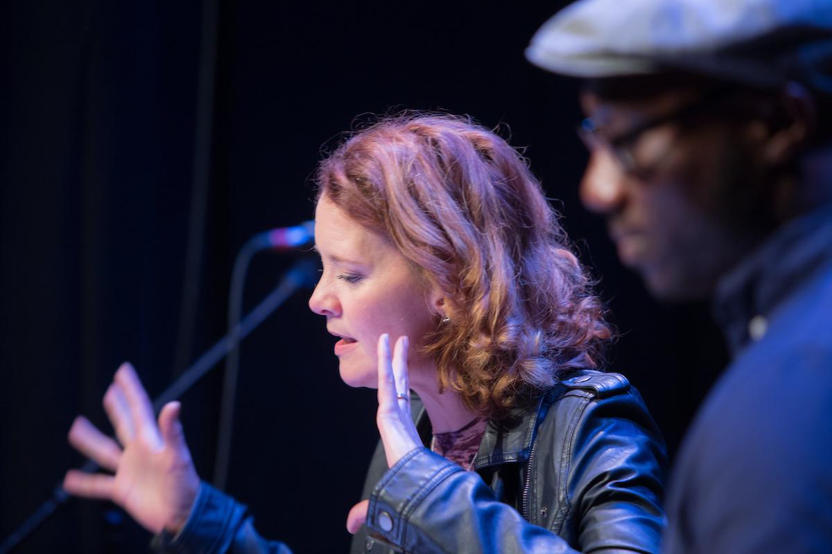 Renata Hinrichs and David King