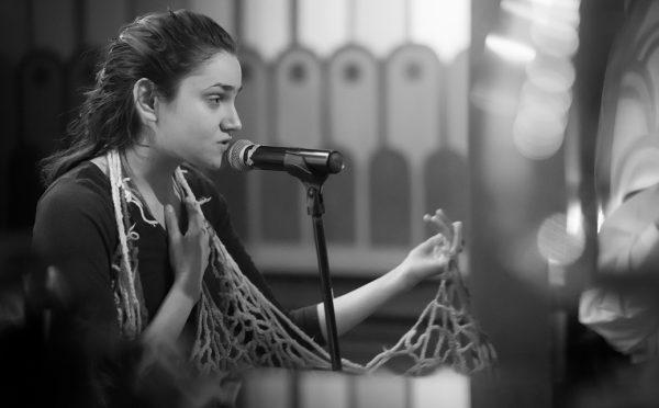 Allison Sylvia Spoken Word Artist Poet Singer Virtuoso Awow Member Mitch Traphagen Photo